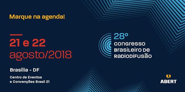 Abertura do Congresso de Radiodifusão da ABERT terá apresentação de Toni Garrido