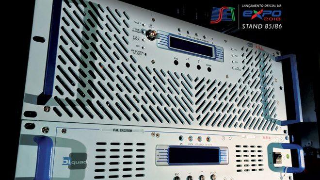 Biquad Broadcast lança linha de Transmissores FM para o mercado Brasileiro