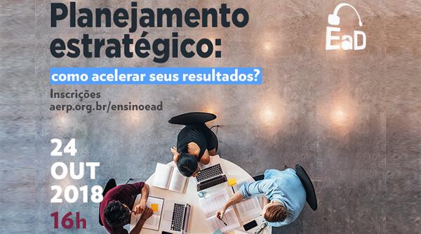 AERP realiza curso EaD gratuito sobre planejamento estratégico